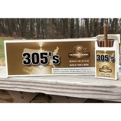 305 Gold Filtered Cigars